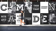 camden market hoardings branding corporate design minimal black mindsparkle mag amsterdam black branding camden corporate design hoarding i