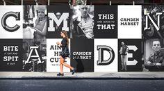 camden market hoardings branding corporate design minimal black mindsparkle mag amsterdam black branding camden corporate  design hoarding i