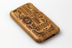 GROVE Bamboo iPhone Covers - Jonny Wan Illustration #iphone #case #wood