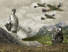 Twist of fate #modern #surrealism #vintage #art #collage