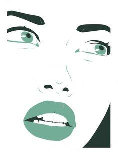 Michael Arnold - Illustration + Design #illustration #art #fashion #portrait #woman #pop