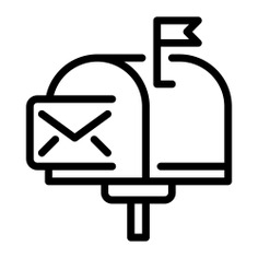 See more icon inspiration related to mailbox, mail, mailboxes, mails, communications, interface, symbol, tools and tool on Flaticon.