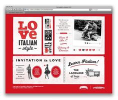 NiceFuckingGraphics! - Blog de diseño gráfico - Part 5 #red #classic #black #italian #love