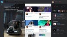 LinkedIn Redesign Concept by Avenue Studio #layout