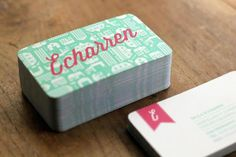 Echarren Real Estate #business #branding #card #tarjetas #brand #identity #logo