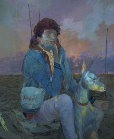 Andrew Hem's Otherworldly Paintings