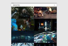 Dark Matter by Mash Creative #site #website #design