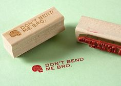 Mikey Burton / Graphic Design, Illustration and Letterpress #stamp #rubber