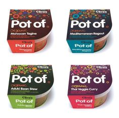 Pot Of - TheDieline.com - Package Design Blog