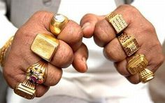 "YIMMY'S YAYOâ""¢ #hands #gold #rings"