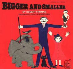 Vintage Kids' Books My Kid Loves: Bigger and Smaller #kids #illustration #books