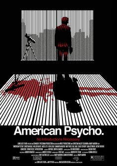 http://i.imgur.com/2WTpEme.jpg #poster #movie #american psycho