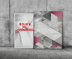 Believe in yourself on Behance #posters