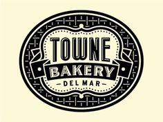 Dribbble - Towne Bakery by Tim Frame