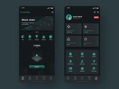 Block chain team 应用 设计 icon ux ui app design