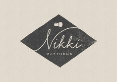 Nikki Matthews #design #logo #brand #illustration #type