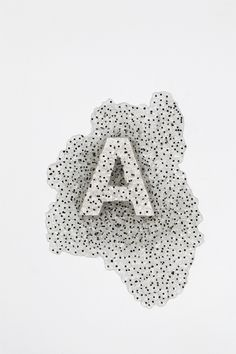Typography frogspawn #design #graphic #letter #frogspawn #typography