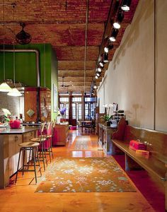 NoHo Residence Loft style with Art deco accents by-Wettling Architects - www.homeworlddesign.com (1) #loft #art #home #deco