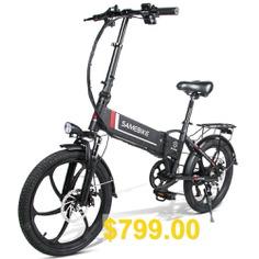 Samebike #20LVXD30 #Smart #Folding #Electric #Moped #Bike #E-bike #3-5 #Days #Arrival