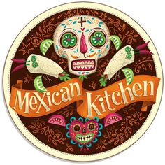 TUZO Mexican Kitchen by Steve Simpson #steve #simpson #illustration #up #logo #lock