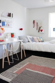 work spaces | the style files #interior design #furniture #bedroom #workplace