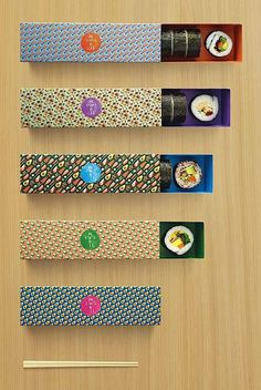 Maki-San - Branding by Kinetic Singapore #branding #sushi #packaging