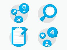 Foursquare 7: Empty States #icons