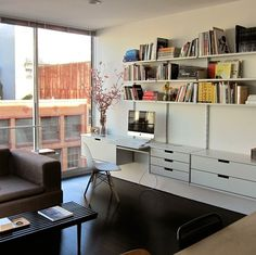 Modular shelving system for home, office, library shelving and retail #dieter rams #vitsoe