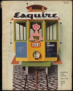 7203233732.jpg 740×933 pixels #cover #esquire #1950s