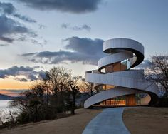 Ribbon Chapel by Hiroshi Nakamura #interior #design #architecture #chapel