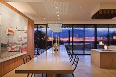 Residence dining area #gallery #home #art #paintings #residence