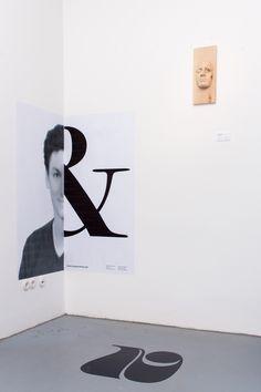Type and Face berlin typography exhibition art filip triner bertram landwerlin design inspiration designblog www.mindsparklemag.com