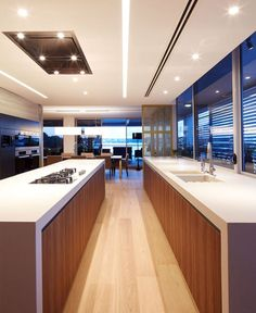Spacious and Sophisticated Apartment in Sydney - #kitchen, #kitchens, kitchen ideas, kitchen design