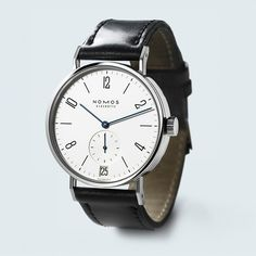tangomat datum watch by nomos glashutte #inspiration #creative #simplicity #design #photography #industrial #minimal #watch #fashion #beautiful #style