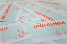 Design Work Life » Acre: UNLEASHED! 2011 Identity and Collateral #print