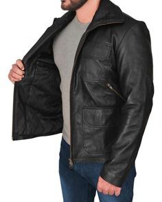 Breaking Bad Aaron Paul Leather Jacket (2) F-L-O