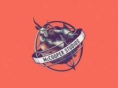 McCooper Studios - Logo by Royal Studio #logo #design #graphic #identity