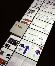 NASA Brand #logotype #branding #nasa #brand #richard danne