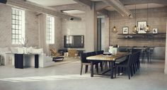 industrial lofts inspiration studio aiko 5 #design #interiors #home