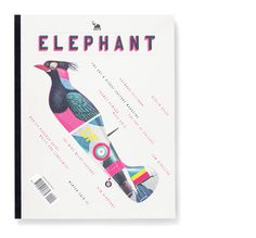 #Elephantmagazine #cover http://mattwilley.co.uk/filter/Magazine/Elephant-Magazine-Issue-5