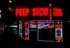 Peep show | Flickr - Photo Sharing! #signs #neon