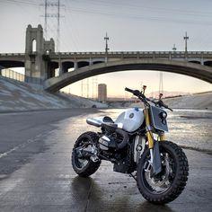 A BMW R NINET BUILT BY JSK CUSTOM DESIGN #moto