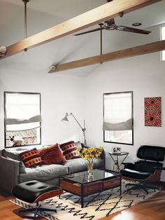 Living room, lounge chair, Eames
