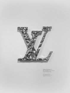 VCE _LV Monogram Sculpture for the Fondation Louis Vuitton designed by Frank Gehry PHOTOGRAPHIE © [ catrin mackowski]