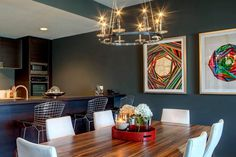 apartment, interior design, dining room