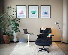 CASABLANCA triptyque - Fabrice Vrigny   ACD / Sr. Designer   Casablanca #print #graphicdesign #home #furniture #square #triangle #poster #circle #eames
