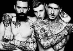 Ricki Hall, Sam Thompson and Daniel Bamdad by Darren Black #photography