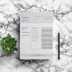 Formal Invoice Template