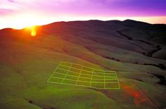 stuart williams: luminous earth grid #earth #grid
