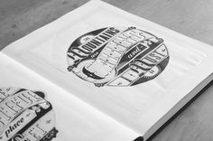 Hand Lettering on Behance #lettering #ink #sharpie #sketch #typography